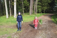 Kids in der Natur