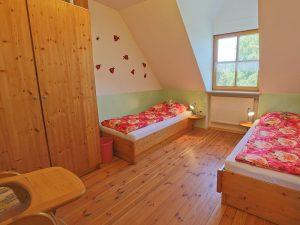 Kinderzimmer in der Ferienwohnung Waldblick