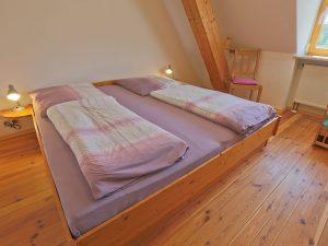 Schlafzimmer der FeWo Waldblick